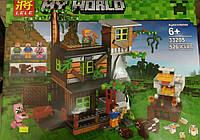 "Конструктор Minecraft lele майнкрафт ""Большой курятник"" my World 33205 526 деталей"