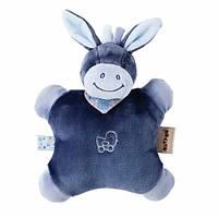 Nattou игрушка-подушка ослик Алекс (24см)