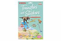 Scribble Down Набор переводных наклеек с онлайн приложением - Динозавры