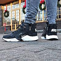 "Мужские кроссовки зимние Nike Huarache X Acronym City MID ""Black&White"" Реплика"