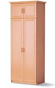 Шафа (шкаф) з ДСП/МДФ в спальню/вітальню/дитячу 2-д бук Вояж Світ Меблів