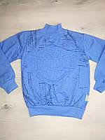 Зимняя теплая кофта свитер для мальчика с начесом