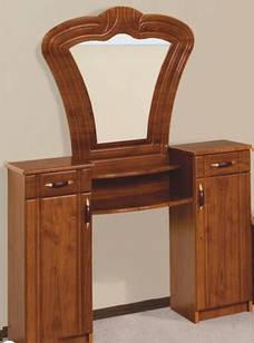 Столик будуарний туалетний з ДСП/МДФ в спальню Антоніна (глянцева) Яблуня Світ Меблів