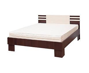 Ліжко з ДСП/МДФ в спальню 2-сп (1,8) (б/матрасу, та каркаса) Елегія Світ Меблів