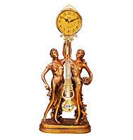 """Годинник з маятником камінні """"Музи"""" Jibo 101A, 78см"""