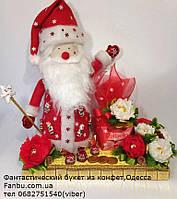 """Новогодний подарок с конфетами и сюрпризом от деда мороза """"Новогоднее волшебство"""", фото 1"""