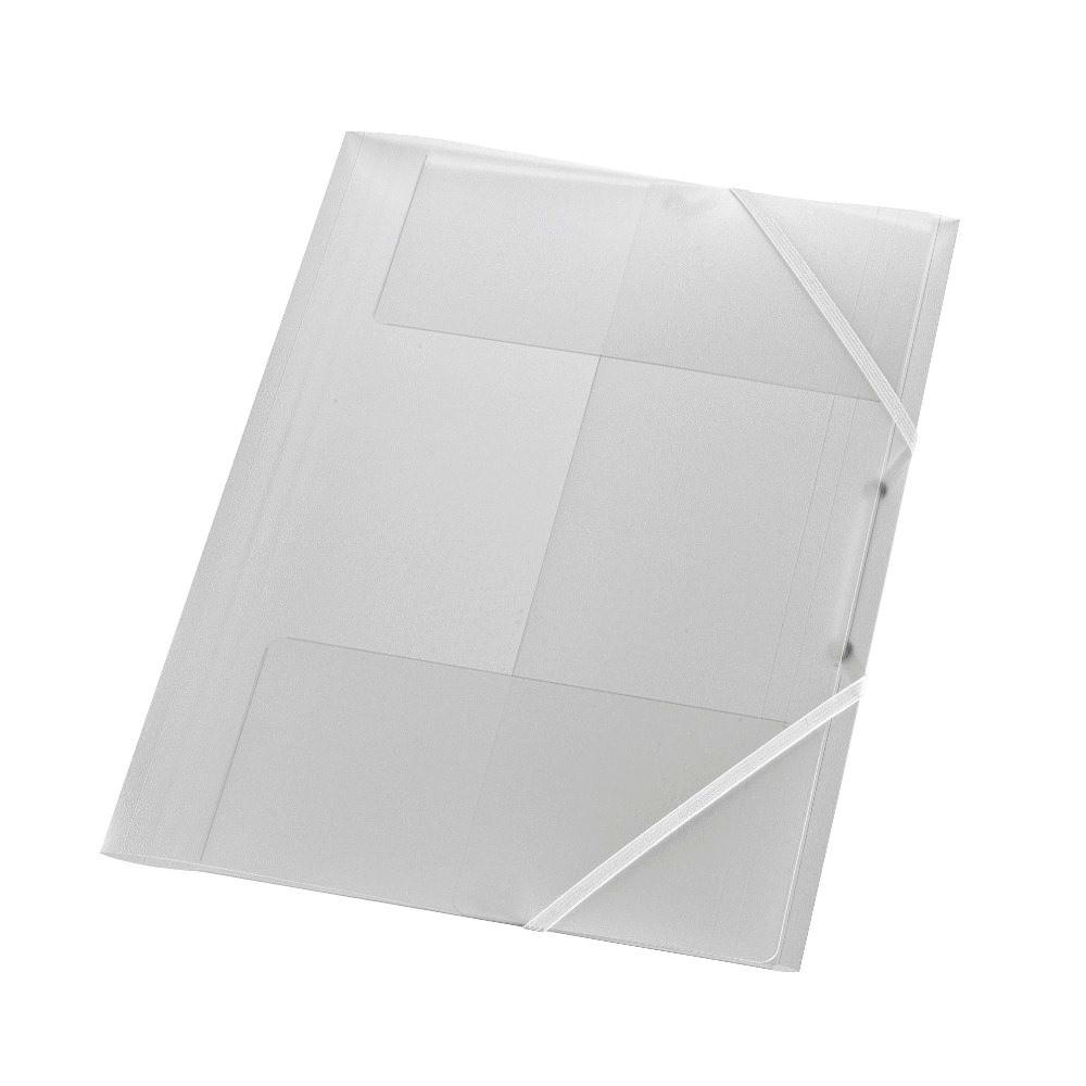 Папка на резинке Herlitz А4 бесцветная прозрачная (1948652)