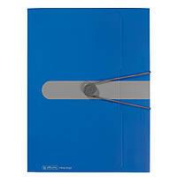 Папка на резинке Herlitz А4 Easy To Go синяя (11205994)