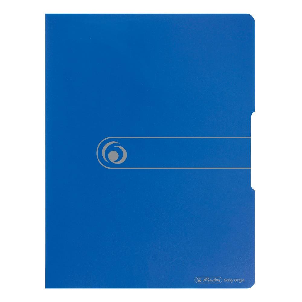 Папка с файлами Herlitz А4 20 файлов Easy Orga To Go синяя (11207347)
