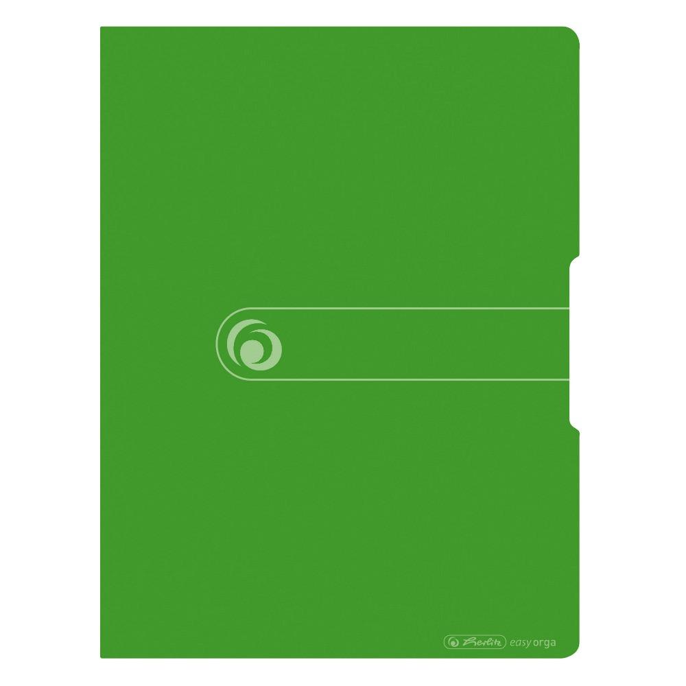 Папка с файлами Herlitz А4 20 файлов Easy Orga To Go салатовая (11226198)