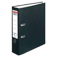 Папка-регистратор Herlitz А4 8см Protect черная (5480801), фото 1