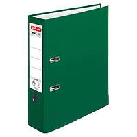 Папка-регистратор Herlitz А4 8см Protect темно-зеленая (5480504)