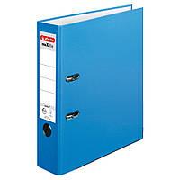 Папка-регистратор Herlitz А4 8см Protect голубая  (10094837), фото 1