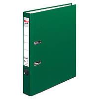 Папка-регистратор Herlitz А4 5см Protect темно-зеленая (5450507), фото 1