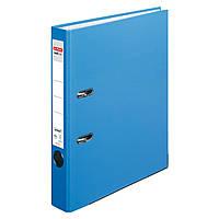 Папка-регистратор Herlitz А4 5см Protect голубая  (10200293), фото 1