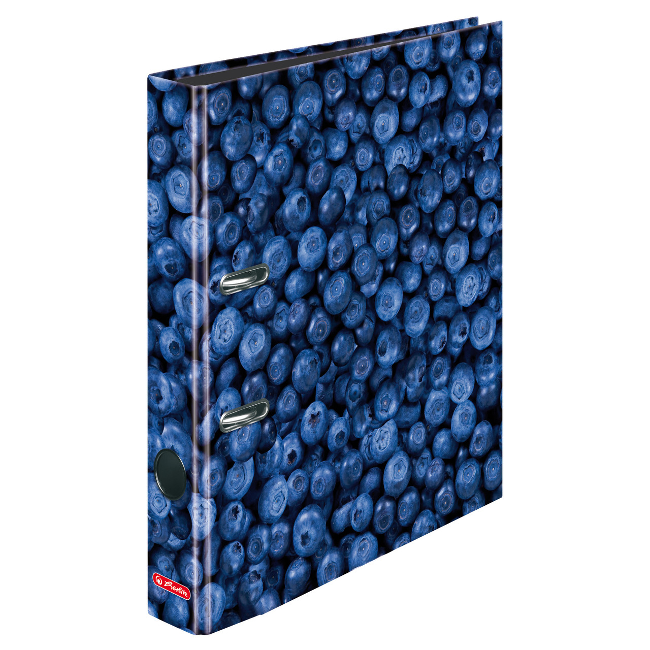 Папка-регистратор Herlitz А4 5см World of Fruit Blueberry  (11288859)