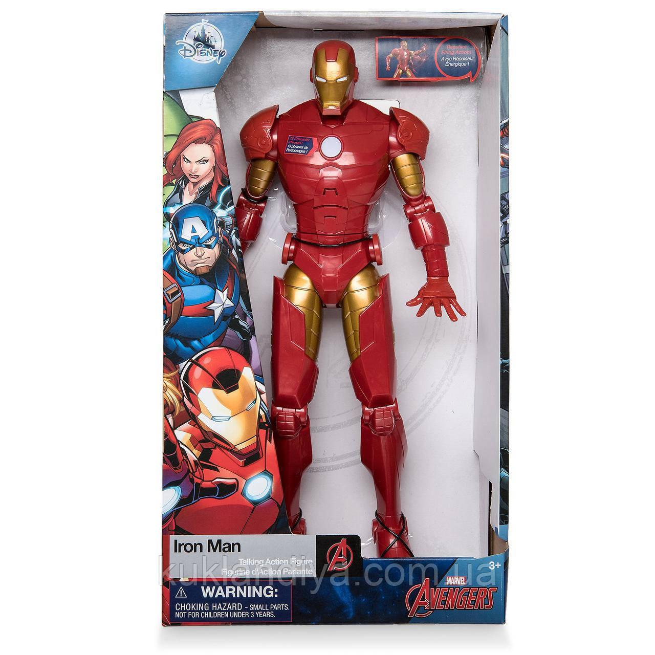 Інтерактивний Залізна людина від Дісней/ Iron Man Talking Action Figure