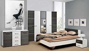 Спальня комплект з ДСП/МДФ 5Д Круїз Світ Меблів
