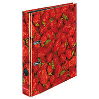 Папка-регистратор Herlitz А4 5см World of Fruit Strawberry  (11288842)