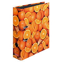 Папка-регистратор Herlitz А4 8см World of Fruit Orange  (10626190)