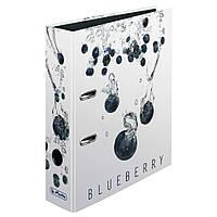 Папка-регистратор Herlitz А4 8см Fresh Fruit Blueberry  (11305992)
