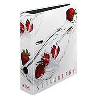 Папка-регистратор Herlitz А4 8см Fresh Fruit Strawberry  (11305984)