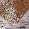 Экокожа крупный блеск 20 х 34 см, 10 листов/уп., золото новинка оптом