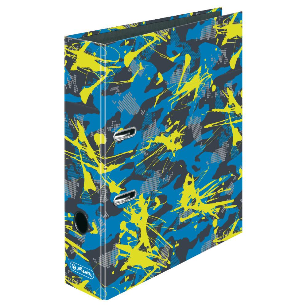Папка-регистратор Herlitz А4 8см Camouflage Boy (50016334)