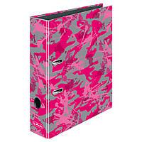 Папка-регистратор Herlitz А4 8см Camouflage Girl (50016341)