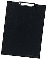Планшет-клипборд Herlitz А4 Classic картонный черный (10842391)