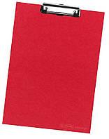 Планшет-клипборд Herlitz А4 Classic картонный красный (10842409)