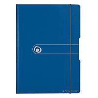 Папка-планшет Herlitz А4 Easy Orga To Go полипропилен синяя (11217213)