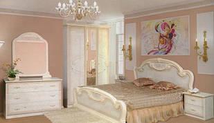 Спальня комплект з ДСП/МДФ 3Д Опера троянда Світ Меблів