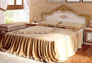 Ліжко з ДСП/МДФ в спальню Дженніфер 1,6х2,0 з каркасом Миро-Марк