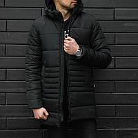 Мужская зимняя курткаСтоун длинная теплая