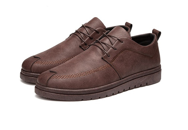 Коричневые мужские туфли недорого