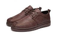 Коричневые мужские туфли недорого, фото 1