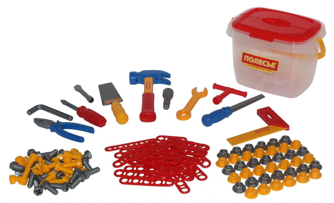 Набор инструментов 132 элемента в ведёрке Wader 47175