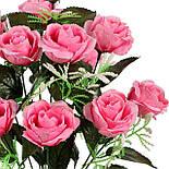 Букет искусственная роза, 47см (20 шт. в уп.), фото 2