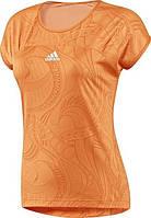 Футболка спортивная, женская adidas AL Capsleeve Magic Orange P44966 адидас