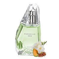 Парфюмерная вода Perceive Dew для женщин Avon Perceive Dew, 50 мл Женские духи Персив Дью Эйвон