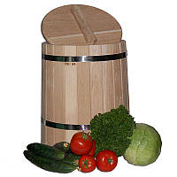 Кадка для солений дубовая, 20 л (УБМ)