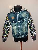 Куртка детская джинсовая на мальчика
