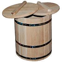 Кадка для солений дубовая, 25 л (УБМ)