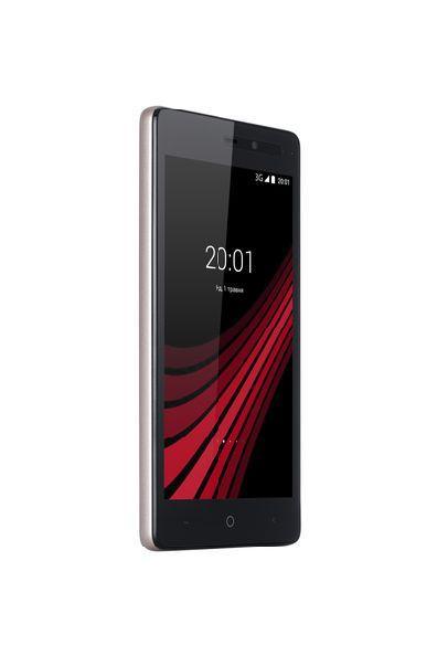 Смартфон на 2 сім карти 5 дюймів 4 ядра 1/8Gb ERGO B502 Basic золотий