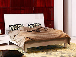 Ліжко з ДСП/МДФ в спальню Рома 1,6х2,0 з каркасом Миро-Марк