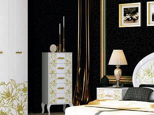 Комод з ДСП/МДФ в спальню, вітальню, дитячу Піонія 5Ш Миро-Марк