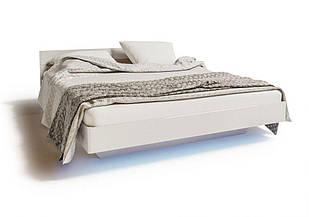 Ліжко з ДСП/МДФ в спальню 2-сп 1.4 (б/матрасу та каркаса) Б'янко Світ Меблів
