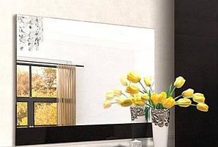 Люстро на стіну з ДСП/МДФ у вітальню спальню Екстаза чорне Світ Меблів