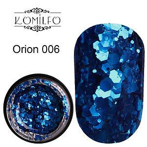 Komilfo Star Gel №006 Orion, 5 мл